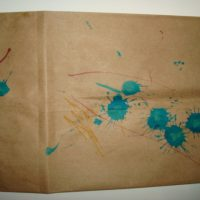 Make your Own Gift Bag with your Toddler's Help