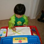 Use Primary Colors for Toddlers to Paint With