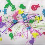 Foam Sticker Fun ~ Easy Toddler Art Project!