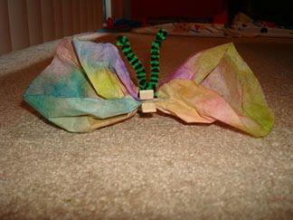 Easy Tie Dye Butterfly Craft For Kids Artsy Momma