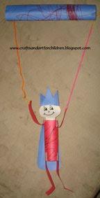 handmade prince puppet