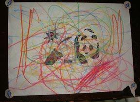 fun kid's arts and craft drawing