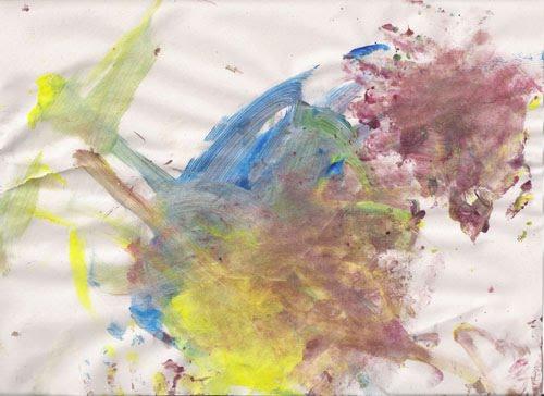 Toddler Sensory Painting