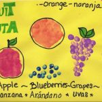 Learning Spanish ~ Fruit Art Project