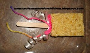 make your own edible princess wands, prince or fairy decoration