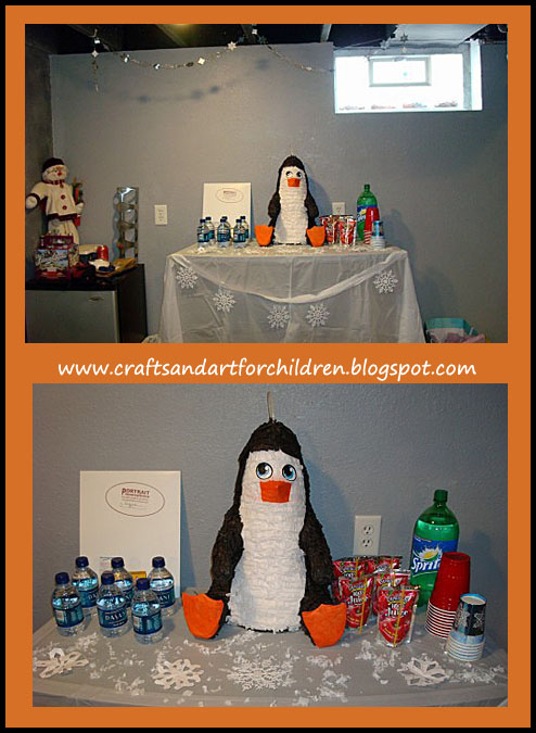 Penguin Winter Land Birthday Party Artsy Momma