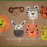 Handmade Animal Masks~ Make Your Own!
