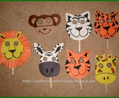 Handmade Animal Masks~ Make Your Own!