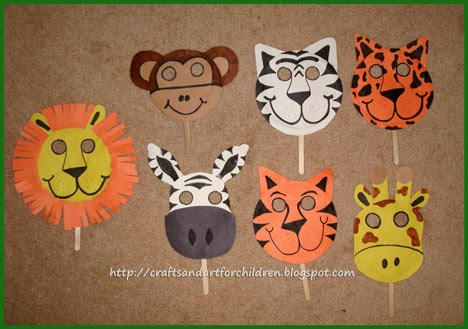 Handmade Animal Masks~ Make Your Own! - Artsy Momma