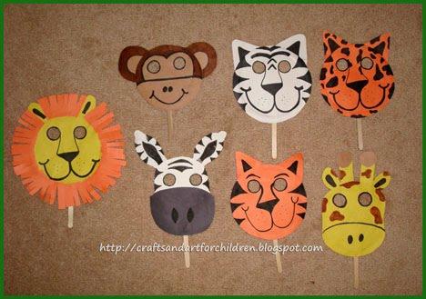 Handmade Animal Masks~ Make Your Own! - Artsy Momma