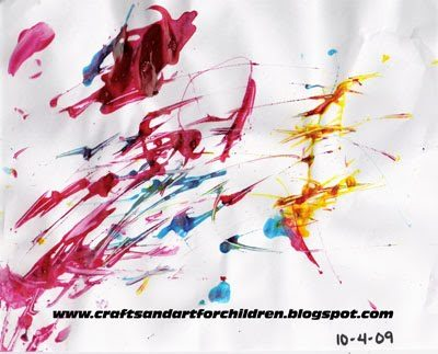 Toddler Dropper Painting Activity