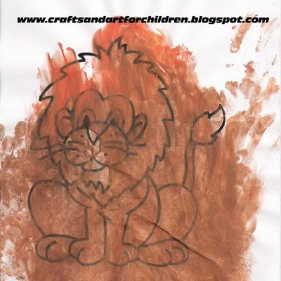 Lion Theme Crafts and Activities