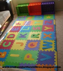 Foam Alphabet Puzzle Floor Mat