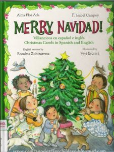 spanglish christmas book for bilingual children