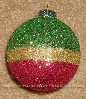 Mommy Made Christmas Ornaments