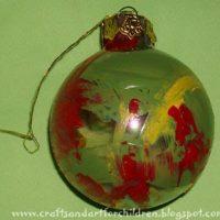 Toddler Made Christmas Ornament