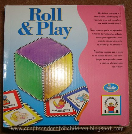 Learning Colors Activity- Discovery Toys Roll & Play