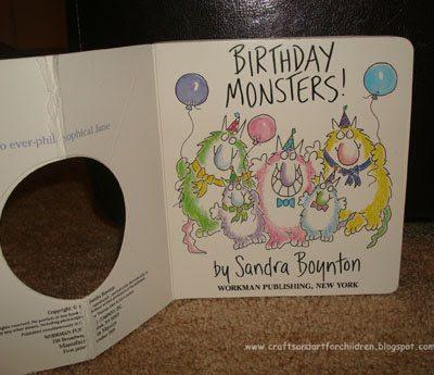 Birthday Monsters by Sandra Boynton