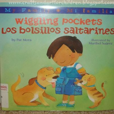Spanglish Frog Book and Craft
