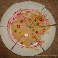 Paper Plate Pizza Craft for Kids