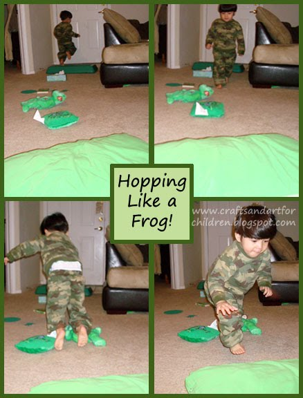 Color Green Activities for Toddlers & Preschoolers