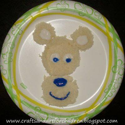 Polar Bear/Oso Polar Circle Craft and Activities