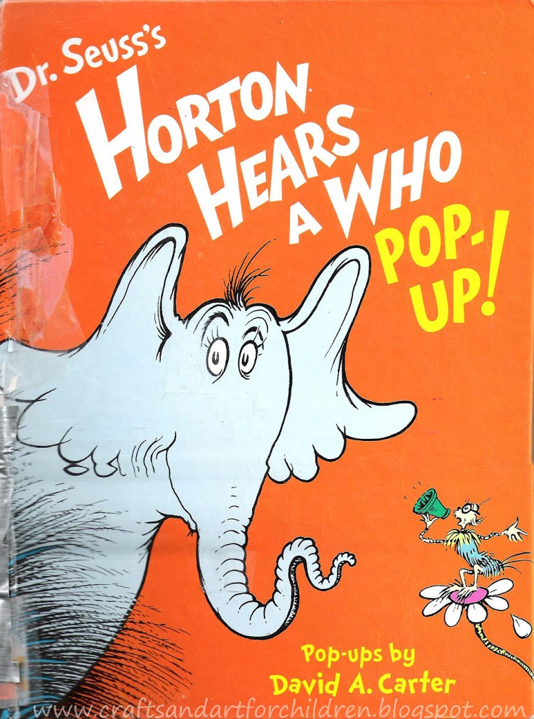 Dr Seuss\'s Horton Hears A Who Crafts, Book, & Movie - Artsy Momma