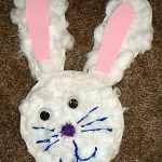 Cottonball Easter Bunny Craft
