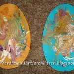 Paper Easter Egg Craft for Children