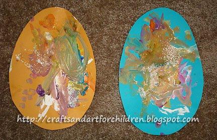 Paper Easter Egg Craft for Children