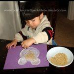 Fun with Rice Sensory Craft