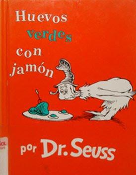 Green Eggs & Ham ~ Huevos Verdes con Jamon, Dr Seuss Crafts