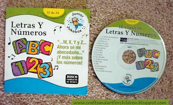 Letras Y Numeros ~ Awesome Children's Spanish Cd