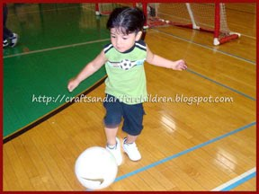 Wordless Wednesdays~ Future Soccer Star!