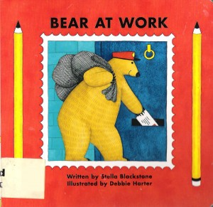 Bear at Work - Kids Book