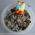 Spring/Summer Rock Sensory Exploration Bin