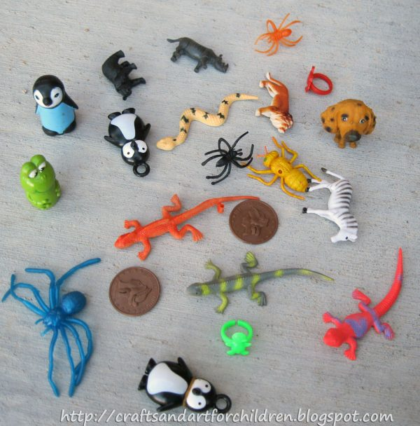 Find the Animals - Sensory Hunt Idea For Preschoolers