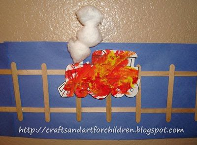 Potty Train Craft ~ All Aboard!