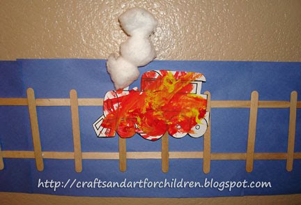 Potty Train Craft ~ All Aboard! - Artsy Momma