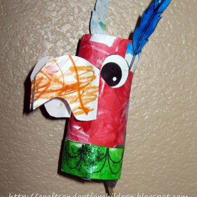 Mexican Bird Maraca/Rattle- Cinco de Mayo Craft