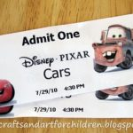 Disney Pixar Cars Movie + Crafts/Activities