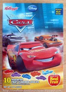 Disney Pixar Cars Crafts