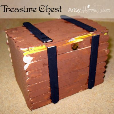 Pirate Crafts and a Treasure Hunt