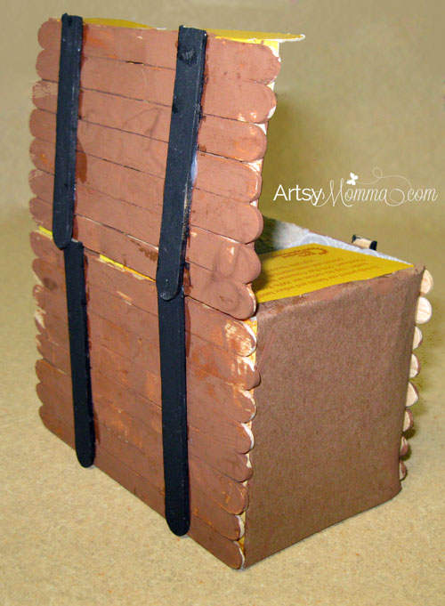 Popsicle Stick Pirate Chest Craft for Kids