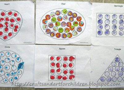 Learning Shapes ~ stART