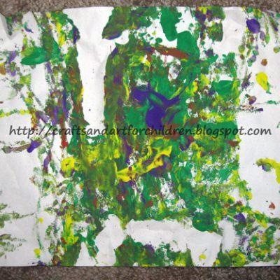 Superball Shake Painting