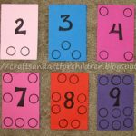 Homemade Number Boards – Learning to Count