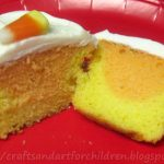 How to Make Candy Corn Cupcakes