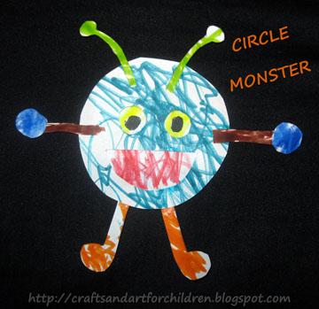 Circle Shape Monster