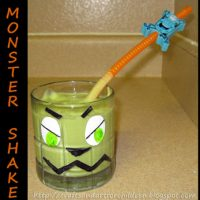 Monster Shake, Crafts, & Book